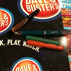 Dave & Busters provided a great setting